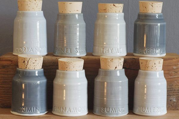 5 Custom Spice Bottles