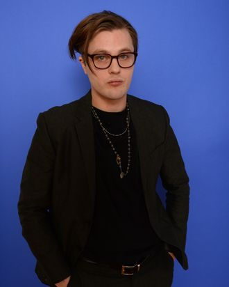 PARK CITY, UT - JANUARY 18: Actor Michael Pitt poses for a portrait during the 2014 Sundance Film Festival at the Getty Images Portrait Studio at the Village At The Lift on January 18, 2014 in Park City, Utah. (Photo by Larry Busacca/Getty Images)