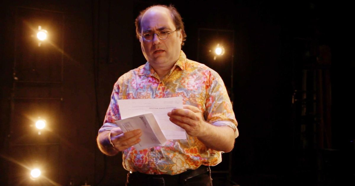 Love & Taxes Monologuist-Star Josh Kornbluth On the State of Storytelling