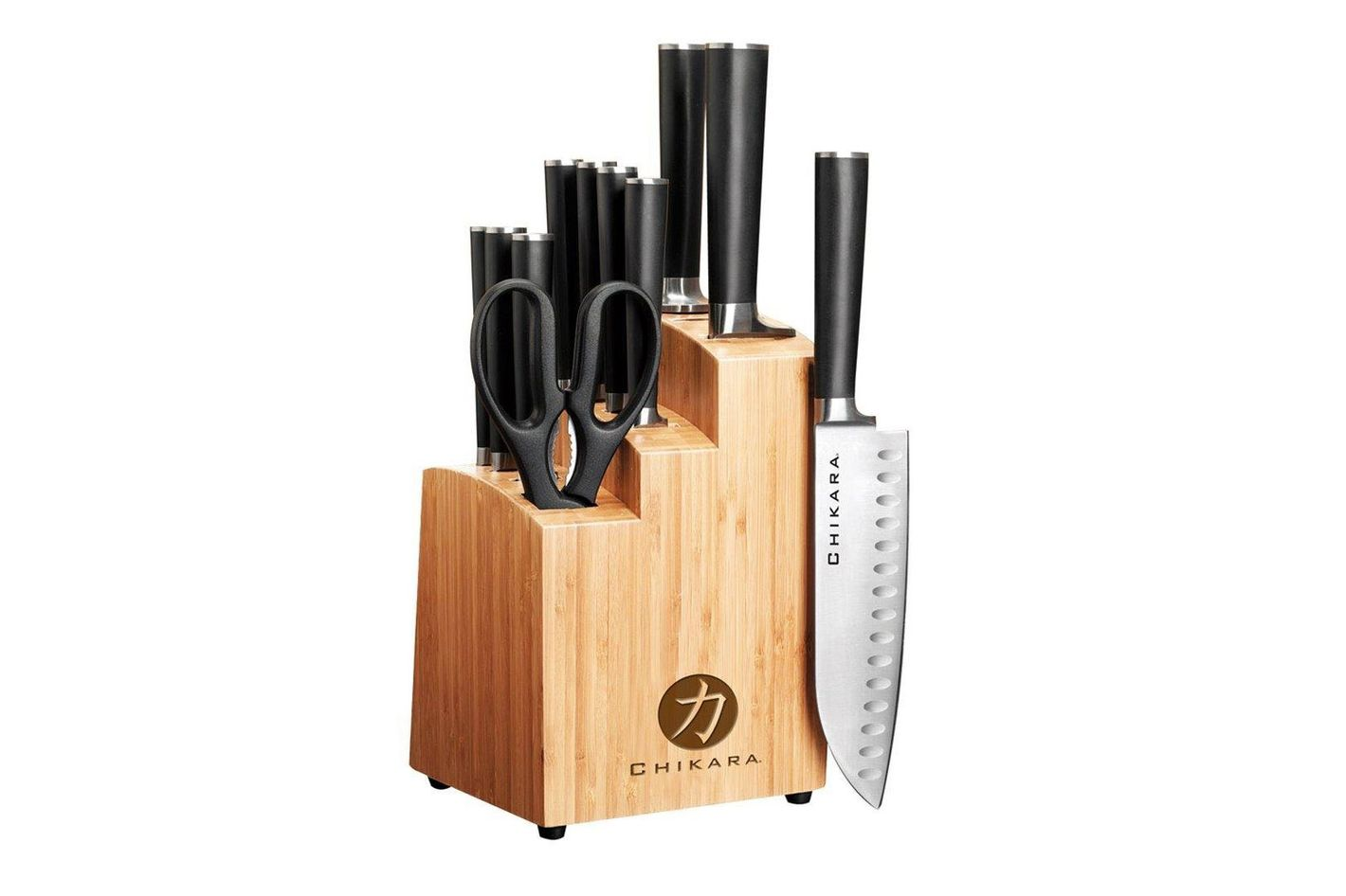 Ginsu Chikara Series Fully Forged 12-Piece Japanese Steel Knife Set