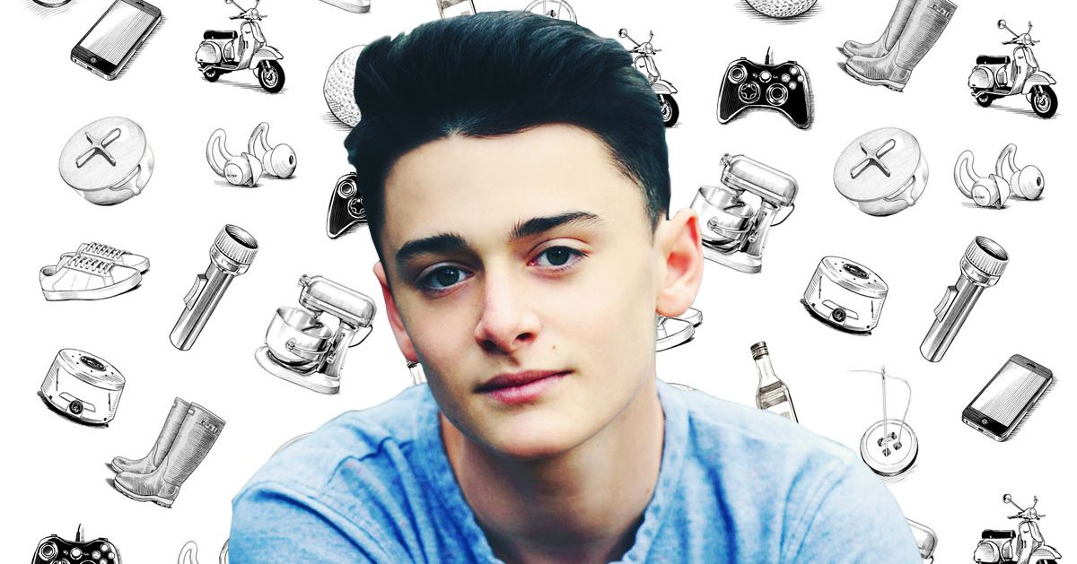 What Actor Noah Schnapp Can't Live Without