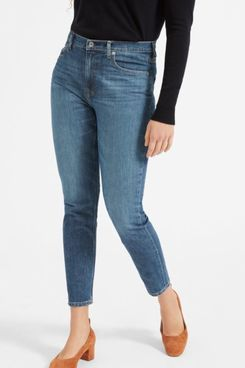 Everlane High-Rise Skinny Jean, Dark Indigo