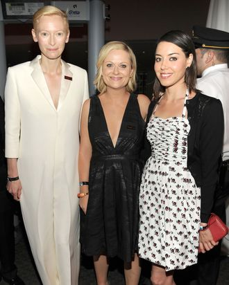 Amy Poehler, Aubrey Plaza - TIME 100 GALA: TIME'S 100 MOST INFLUENTIAL PEOPLE IN THE WORLD