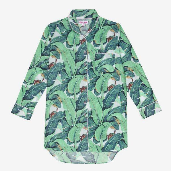 Sant and Abel Martinique Banana Leaf Night Shirt