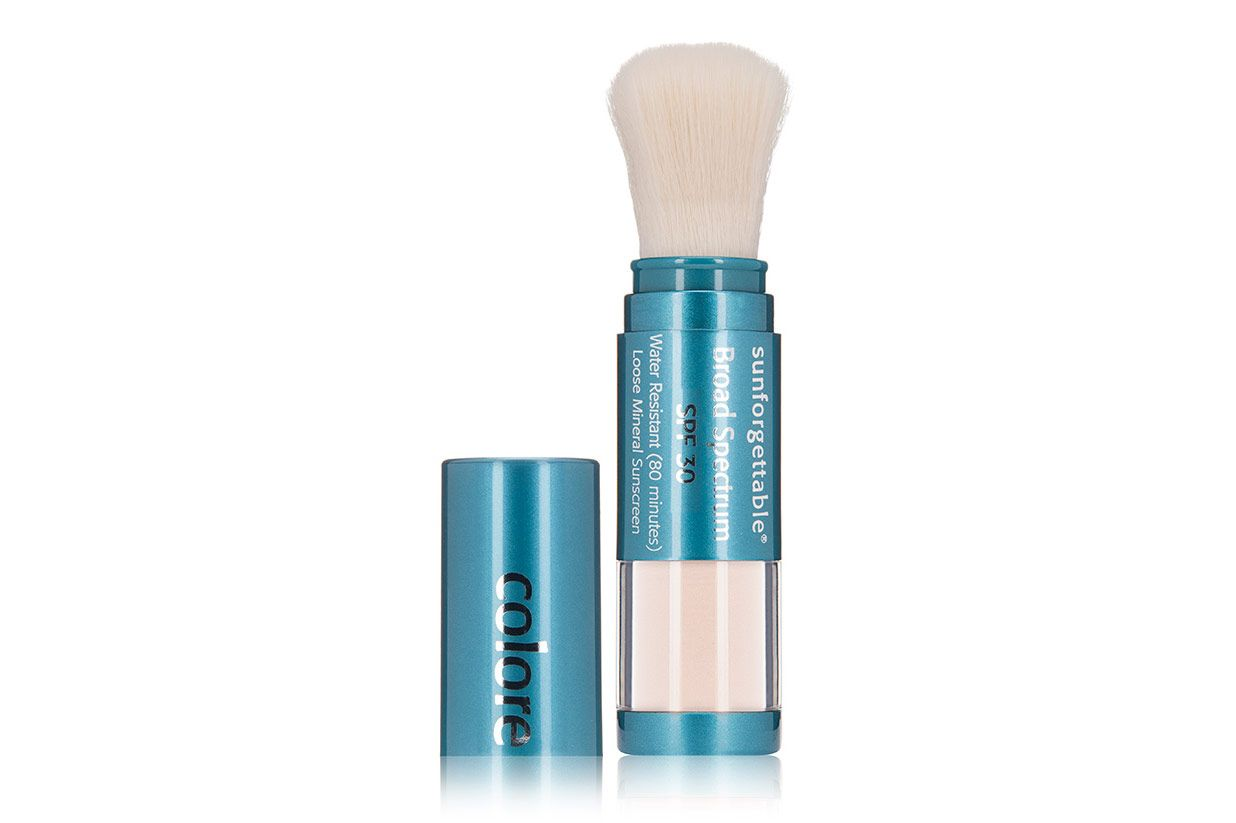 Colorescience Sunforgettable Loose Mineral Powder Brush SPF 30