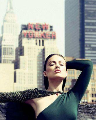 Olivia Wilde in <em>Marie Claire</em>.