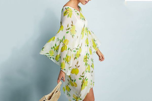 Pool to Party Lemon Squeeze Caftan