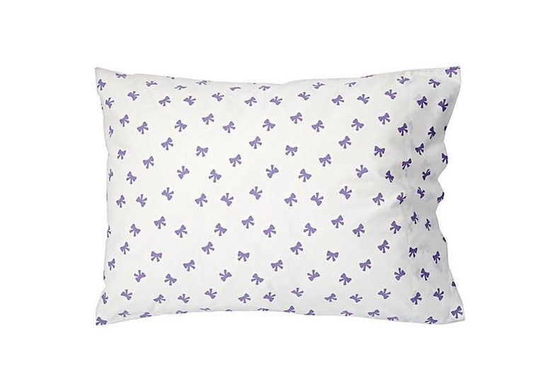 The Land of Nod Candy Bow Pillowcase