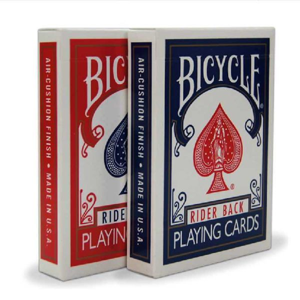 Bicycle Rider Back 808 Standard Poker Playing Cards