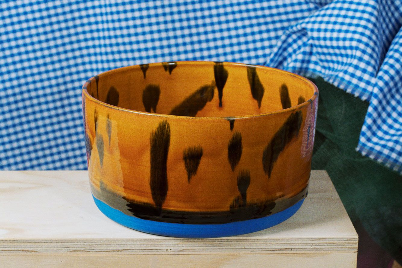 Large Tortoise Shell Bowl