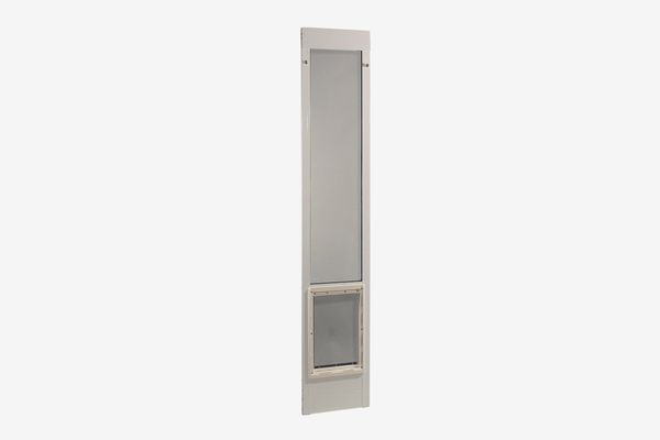 "Ideal Pet Products 80"" Fast Fit Aluminum Pet Patio Door"
