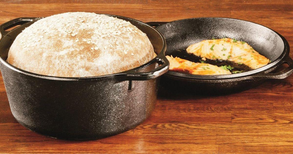 This $32 Cast-iron Pot Makes No-Knead Bread a No-brainer