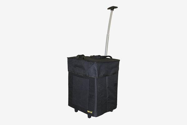 Bigger Smart Cart Multipurpose Rolling Collapsible Utility Cart Basket
