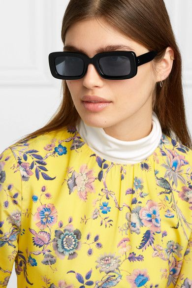 Stella McCartney Square-Frame Acetate Sunglasses