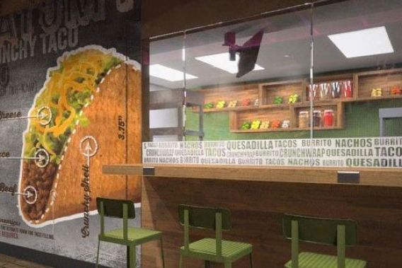 The First Taco Bell to Serve Alcohol Surprise-Opens Today