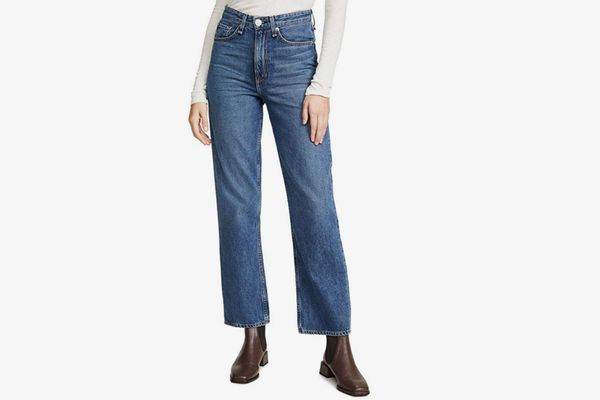 Rag & Bone/JEAN Women's Ruth Super High-Rise Straight Jeans