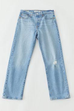 Levi's Wedgie Straight Jean – Tango Blue