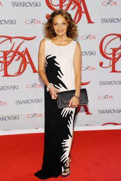 Designer Diane von Furstenberg attends the 2012 CFDA Fashion Awards at Alice Tully Hall on June 4, 2012 in New York City. NEW YORK, NY - JUNE 04:  Designer Diane von Furstenberg attends the 2012 CFDA Fashion Awards at Alice Tully Hall on June 4, 2012 in New York City.  (Photo by Jamie McCarthy/Getty Images)