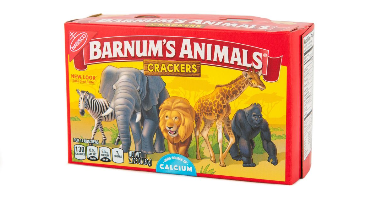 They Changed the Animal Crackers Box Because PETA Was Mad