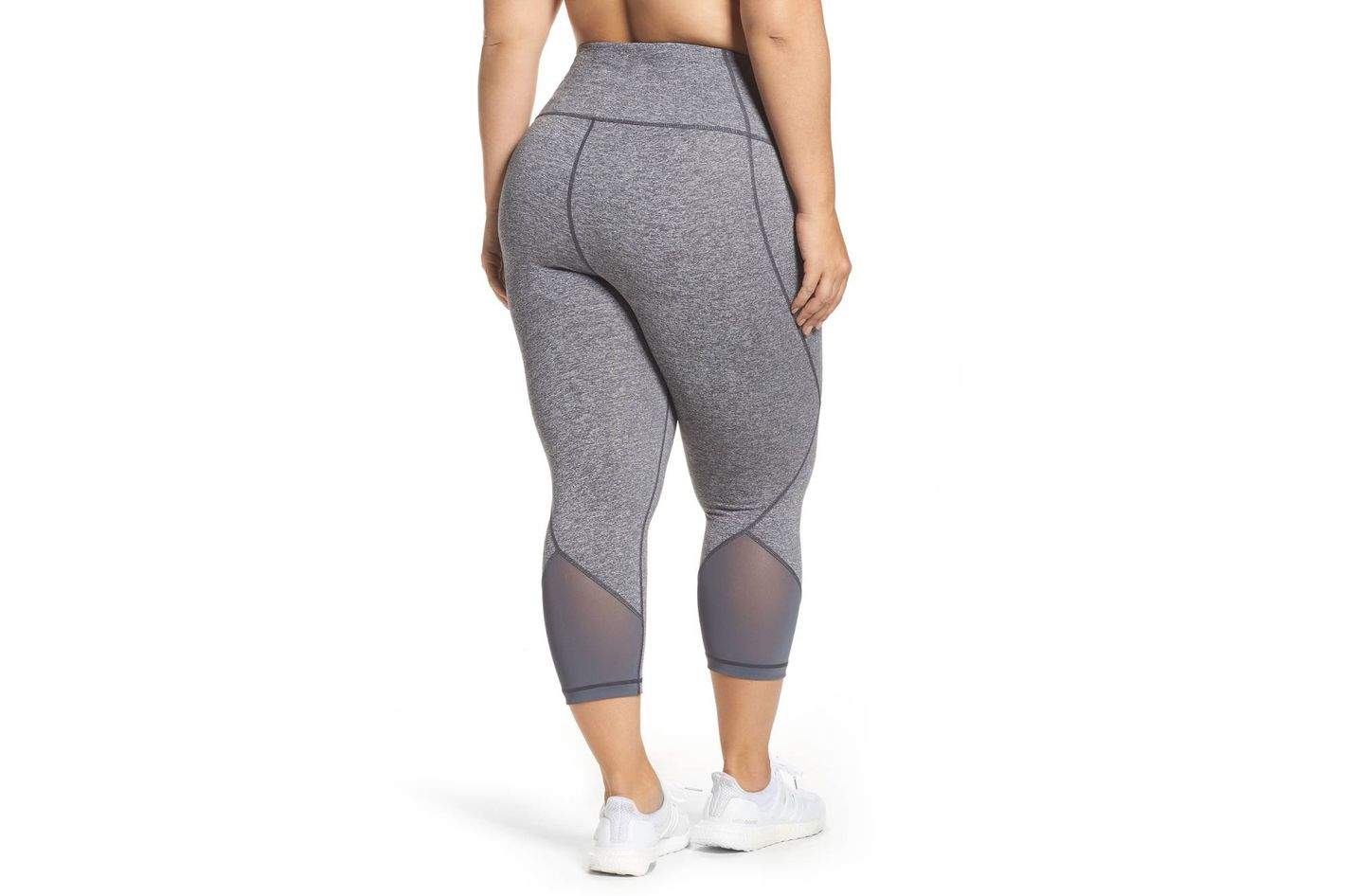 Zella Hatha High-Waist Crop Leggings