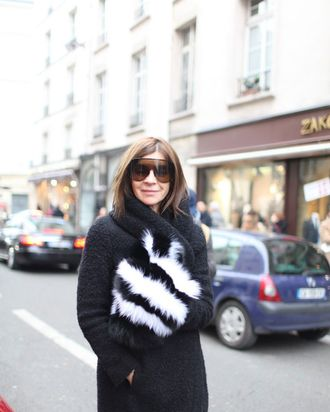Carine, wearing Altuzarra in Paris.