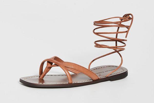 Loeffler Randall Lilla Thong Wrap Sandals