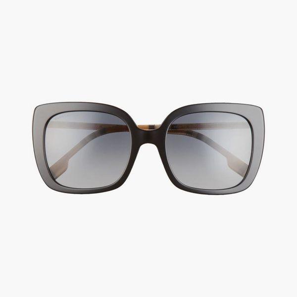 Burberry Polarized Square Sunglasses
