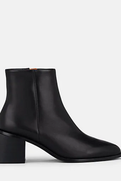 Clergerie Xenia Leather Ankle Boots