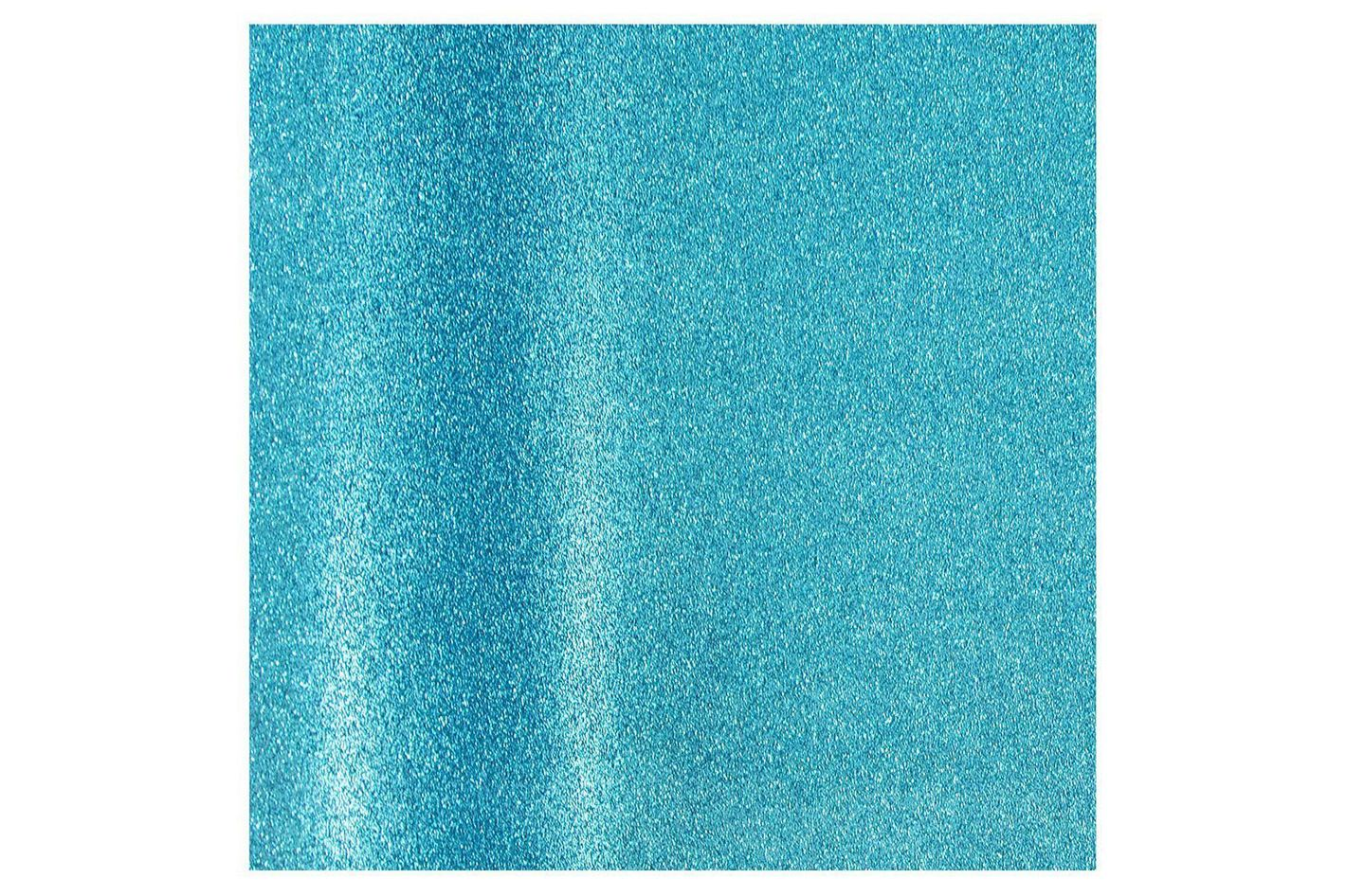 Aqua Blue Glitter Gift-Wrapping Paper