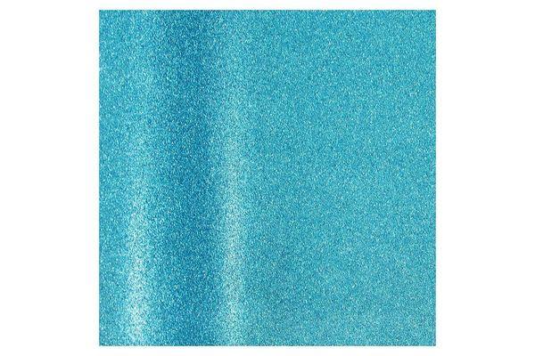 Aqua Blue Glitter Gift-Wrapping Paper
