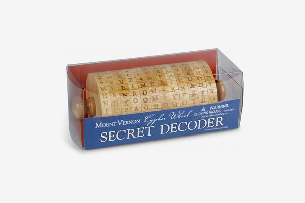 Mount Vernon Cypher Wheel Secret Decoder
