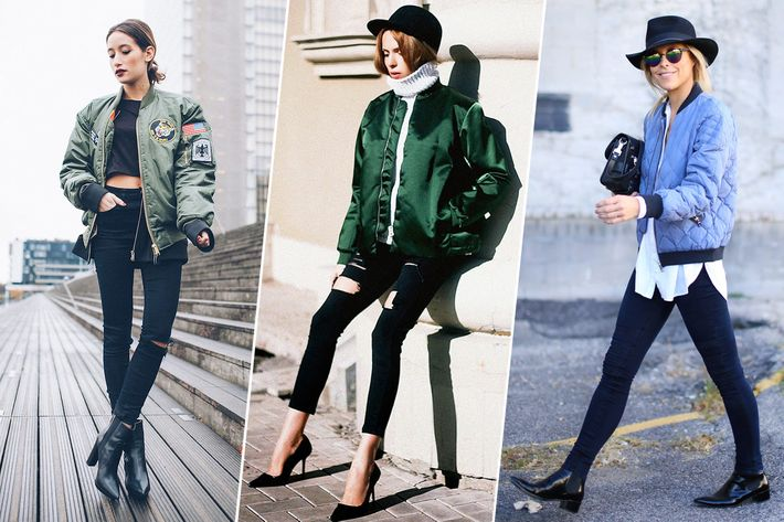 15 Ways to Wear a Light Flight Jacket