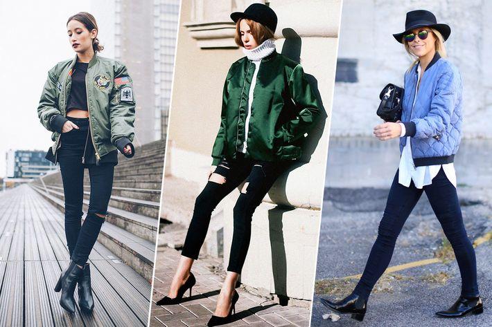 15 Ways to Wear a Light Flight Jacket