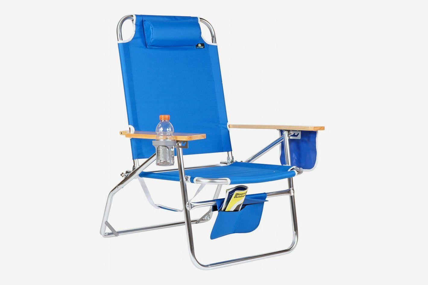 Beach Mall Heavy Duty Aluminum Beach Chair for Big u0026 Tall & The 25 Best Beach Chairs 2019