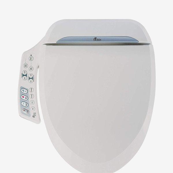 BioBidet BB-600 Ultimate Advanced Bidet Toilet Seat, Elongated White
