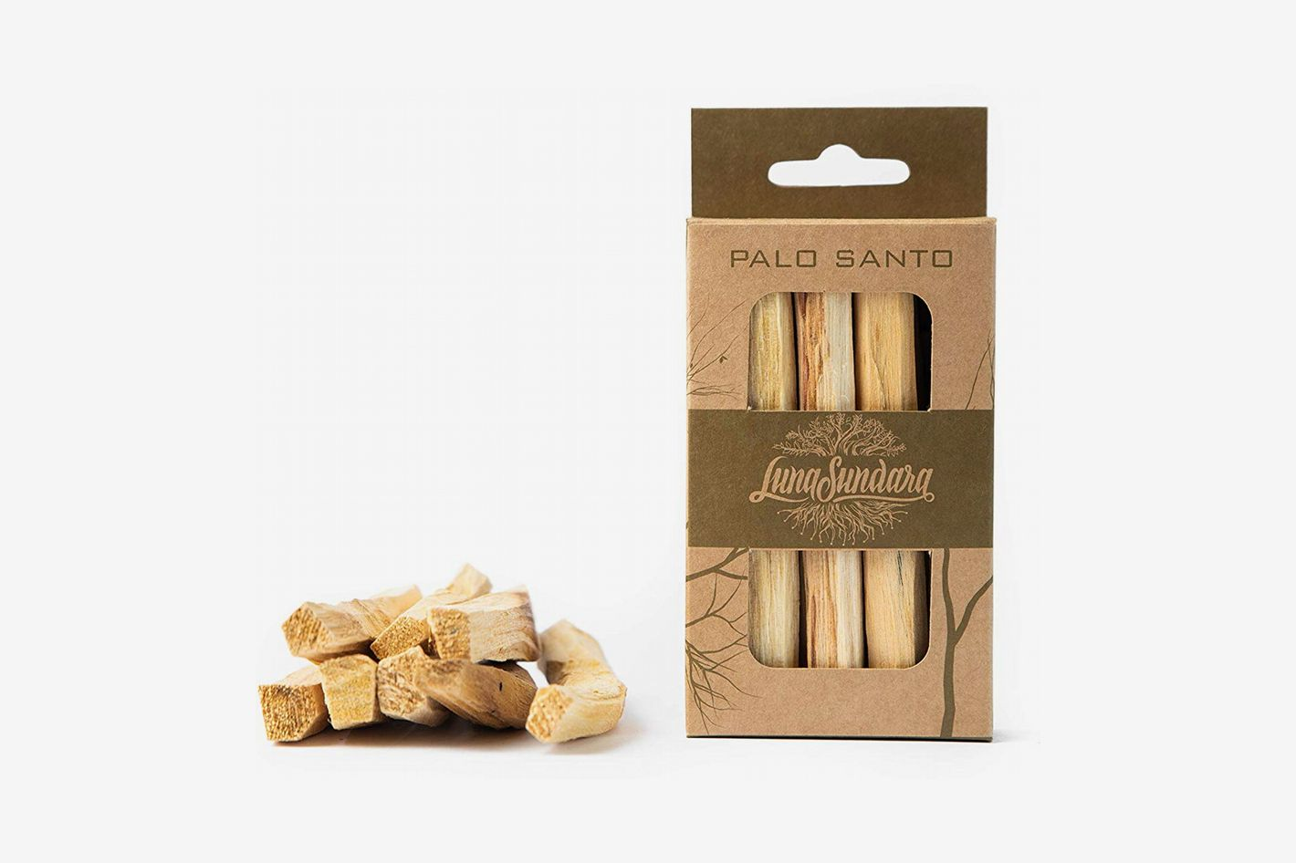 Luna Sundara Palo Santo Smudging Sticks At Amazon