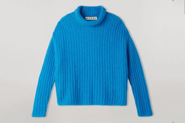 Marni Ribbed Mohair Turtleneck