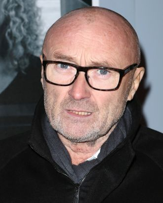 Phil Collins attends