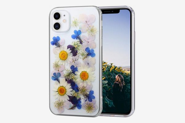 AHTONG iPhone 11 Flower Case