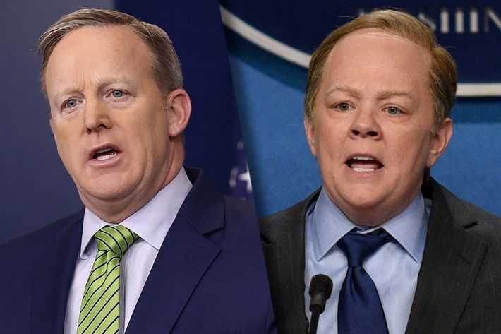 Trump Upset That a Woman Played Sean Spicer on SNL: Report