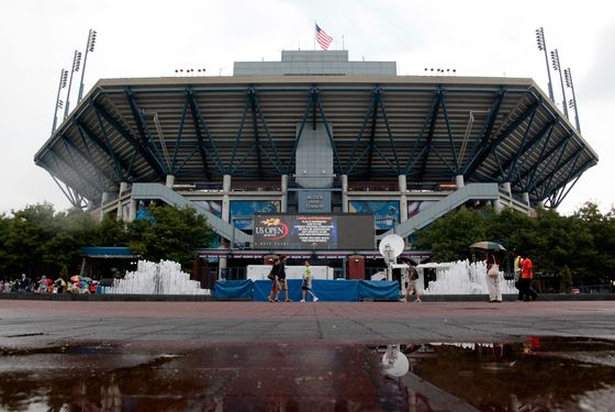 NEW YORK, NY - AUGUST 25:  A general view of Arthur Ashe Stadium is seen prior to the start of the 2011 U.S. Open at the USTA Billie Jean King National Tennis Center on August 25, 2011 in the Flushing neighborhood, of the Queens borough of New York City.  (Photo by Jared Wickerham/Getty Images for USTA)