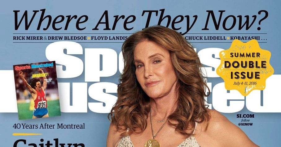 Caitlyn Jenner Returns to the Cover of Sports Illustrated Wearing Her Olympic Gold Medal