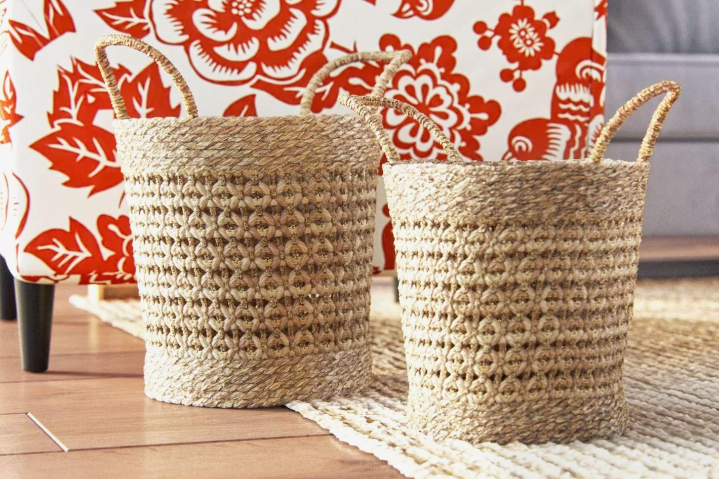 Birch Lane Fairport Seagrass Baskets