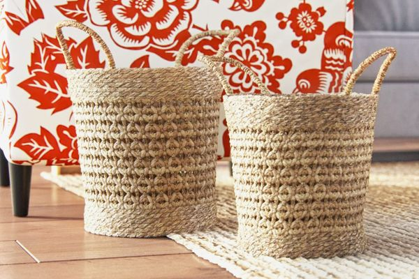 Birch Lane Fairport Seagrass Baskets