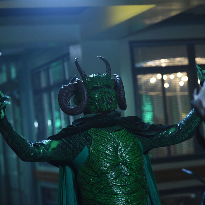 The Green Meanie.