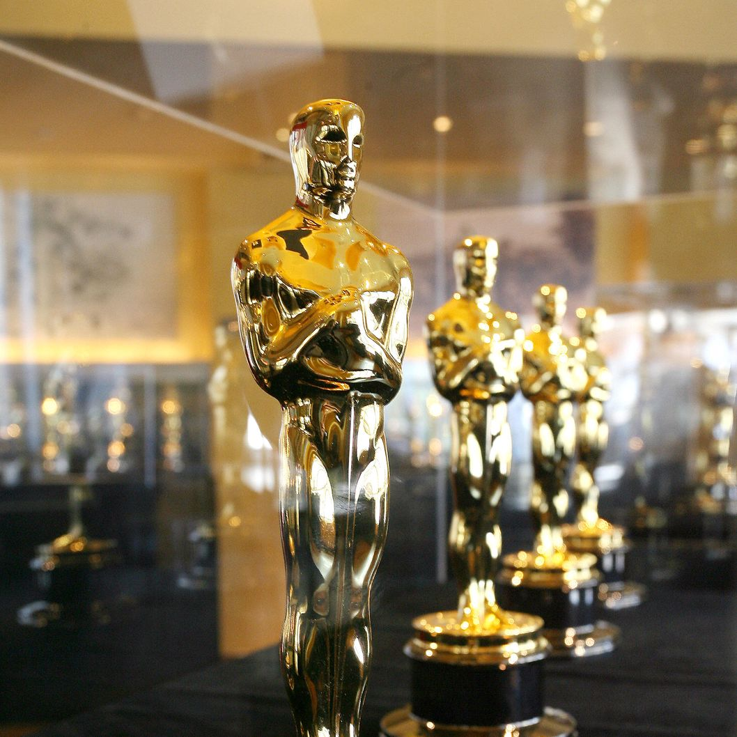 "Opening of the exhibition ""meet the Oscars"" featuring the fifty scar statuettes to be presented at the 80th Academy Awards, 1 February  2008, at the Hollywood and Highland Center in Los Angeles, California."