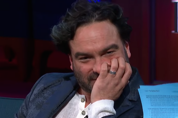 Unspeakable Deeds Were Done in Johnny Galecki's Big Bang Theory Dressing Room