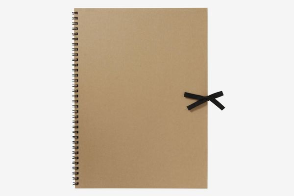 Muji Recycled Paper Sketch Book