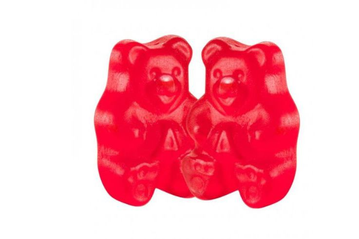 One Pound of Wild Cherry Gummy Bears