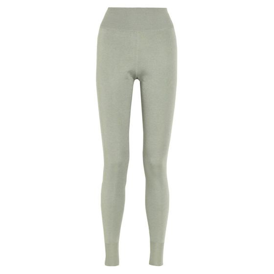 "Fine-knit cashmere-and-silk-blend leggings, <a href=""http://www.theoutnet.com/product/399406?cm_mmc=LinkshareUS-_-J84DHJLQkR4-_-Custom-_-LinkBuilder&siteID=J84DHJLQkR4-VHXVrUrb9Vj48LDpyQKp1A"">$252.45, originally $935</a>."